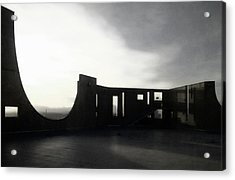 Acrylic Print featuring the photograph Denver Art Museum Ponti 2 by Marilyn Hunt