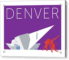 Denver Art Museum/purple Acrylic Print