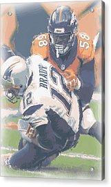Denver Broncos Von Miller 2 Acrylic Print