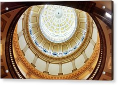 Acrylic Print featuring the photograph Denver Capitol Dome 1 by Marilyn Hunt
