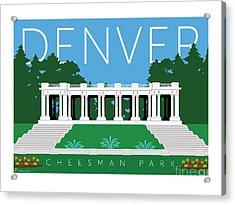 Denver Cheesman Park Acrylic Print