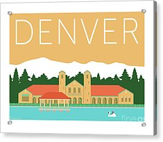 Denver City Park/adobe Acrylic Print
