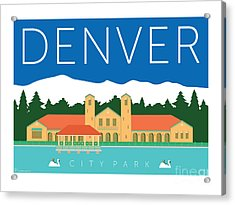 Denver City Park Acrylic Print