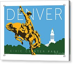 Denver Civic Center Park Acrylic Print