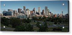 Denver Co Skyline Acrylic Print by Steve Gadomski