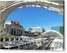Denver Co Union Station Acrylic Print