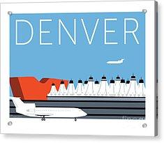 Denver Dia/blue Acrylic Print