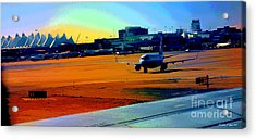 Denver International Airport Acrylic Print