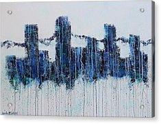 Denver Rain Acrylic Print
