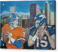 Denver Rookies Acrylic Print