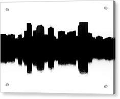 Denver Silhouette Acrylic Print