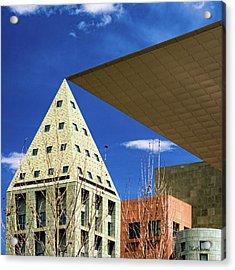 Denver Urban Geometry Acrylic Print