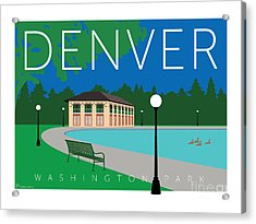 Denver Washington Park Acrylic Print