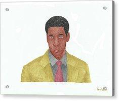 Denzel Washington Acrylic Print