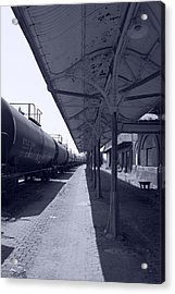 Departing Depot Acrylic Print by Jame Hayes