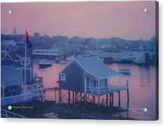 Departing Nantucket Acrylic Print