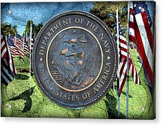 Department Of The Navy - United States Acrylic Print