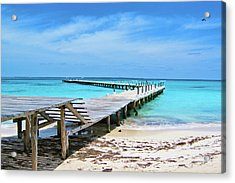 Departure Point Soft Acrylic Print