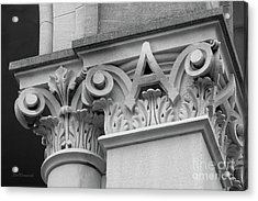 Depauw University East College Detail Acrylic Print