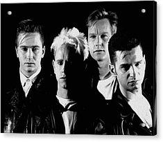 Depeche Mode #16a By Nixo Acrylic Print