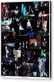 Depeche Mode Acrylic Print by Lisa Sweet