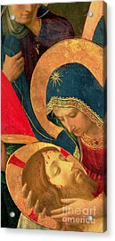 Deposition From The Cross Acrylic Print by Fra Angelico