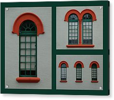 Depot Windows Collage One Acrylic Print
