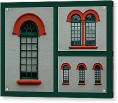 Depot Windows Collage One Acrylic Print