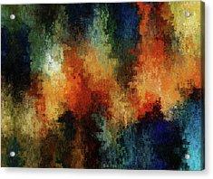 Depression Abstract  Acrylic Print
