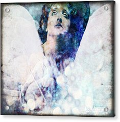 Depression Angel Acrylic Print