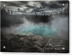 Depth Acrylic Print by Jason Naudi