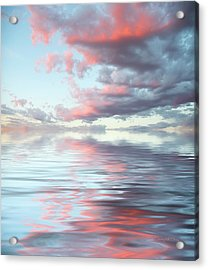 Depth Acrylic Print by Jerry McElroy