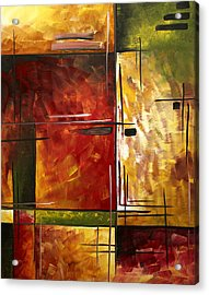Depth Of Emotion By Madart Acrylic Print by Megan Duncanson
