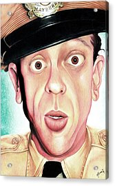 Deputy Of Mayberry Acrylic Print by Marvin  Luna