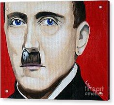 Der Fuhrer's Line Acrylic Print by Matthew Lake