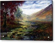 Derbyshire Secret Acrylic Print by Ann Marie Bone