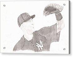 Derek Jeter - Yankee Captain Acrylic Print