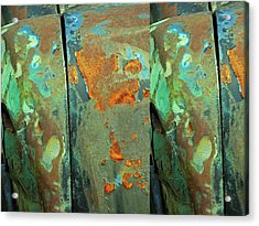 Dereliction Of Paint 2 Acrylic Print