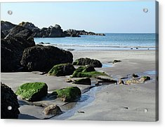 Derrynane Beach Acrylic Print by Marie Leslie