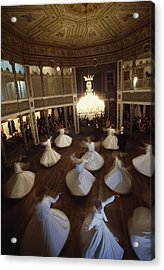 Dervishes Perform A Ritual Dance Acrylic Print by James L. Stanfield