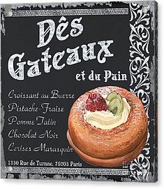Des Gateaux Acrylic Print