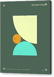 Descartes Theorem - A Acrylic Print