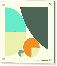 Descartes Theorem - B Acrylic Print