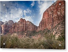 Descent Into Zion Acrylic Print