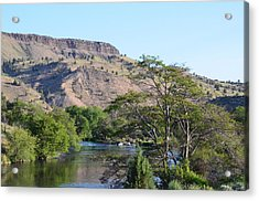 Deschutes River At Trout Creek Acrylic Print