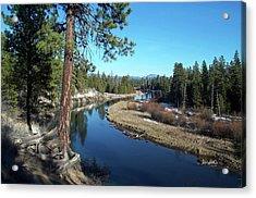 Deschutes River Acrylic Print