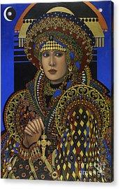 Desdemona Acrylic Print by Jane Whiting Chrzanoska