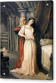 Desdemona Retiring To Her Bed Acrylic Print