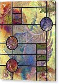 Desert Blossoms Acrylic Print