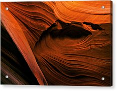 Desert Carvings Acrylic Print